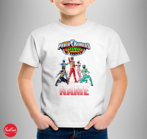 Personalised Power Rangers